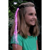 Pink Glowbys Hair Accessory