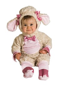 Click Here to buy Pink Lamb Baby Costume from BuyCostumes