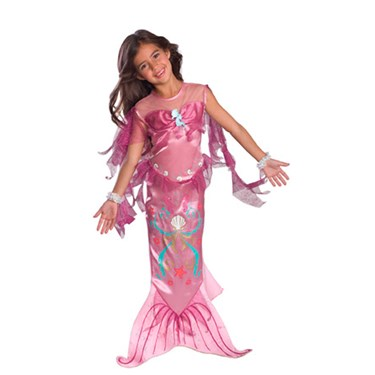 Pink Mermaid Toddler Costume