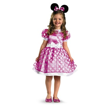 Pink Minnie Mouse Classic Child Costume