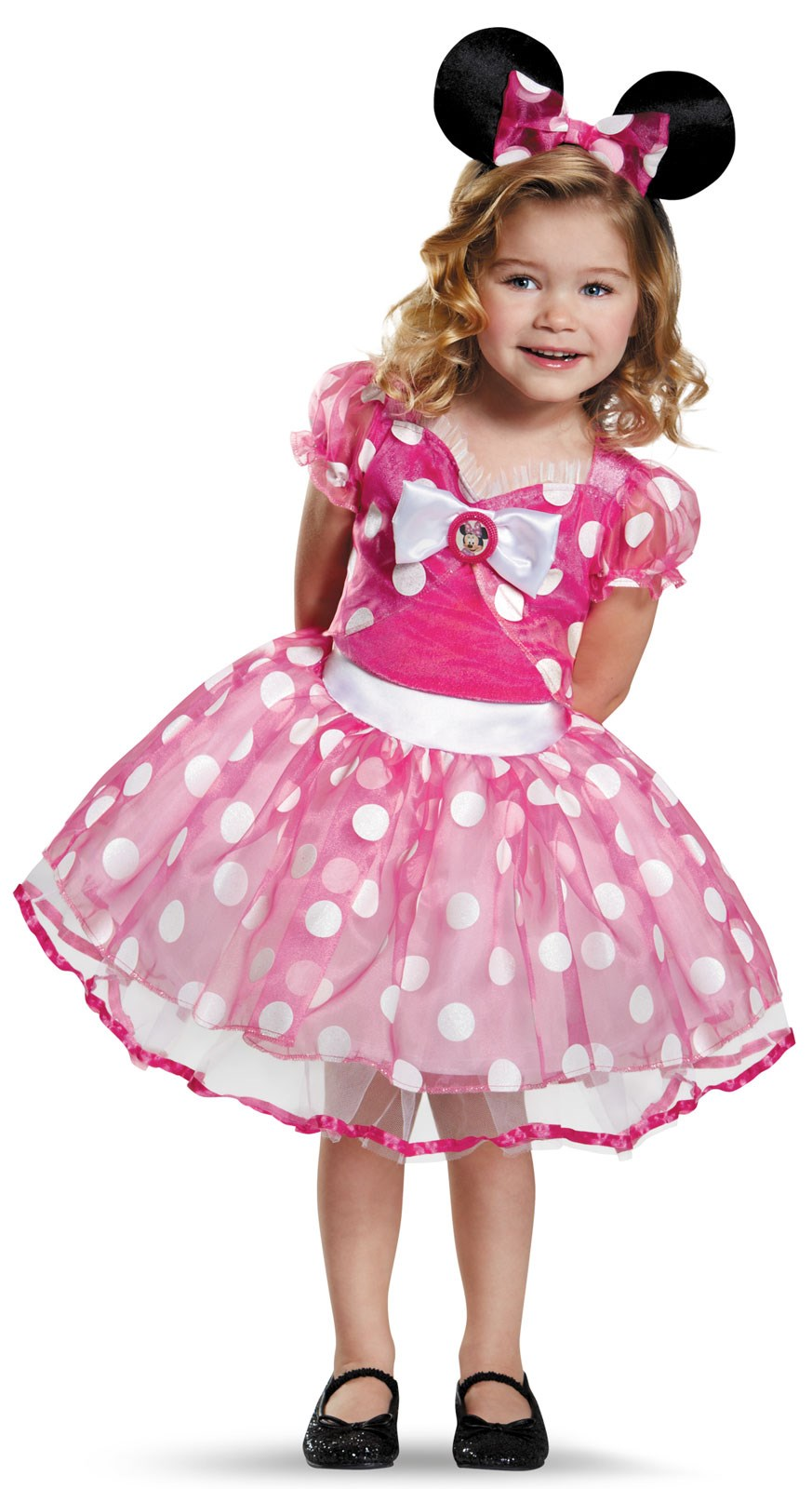 Pink Minnie Mouse Deluxe Tutu Costume For Toddlers
