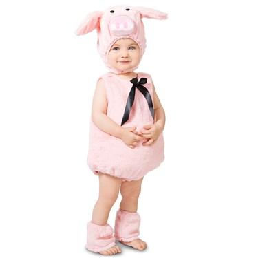 Pink Piglet Toddler Costume