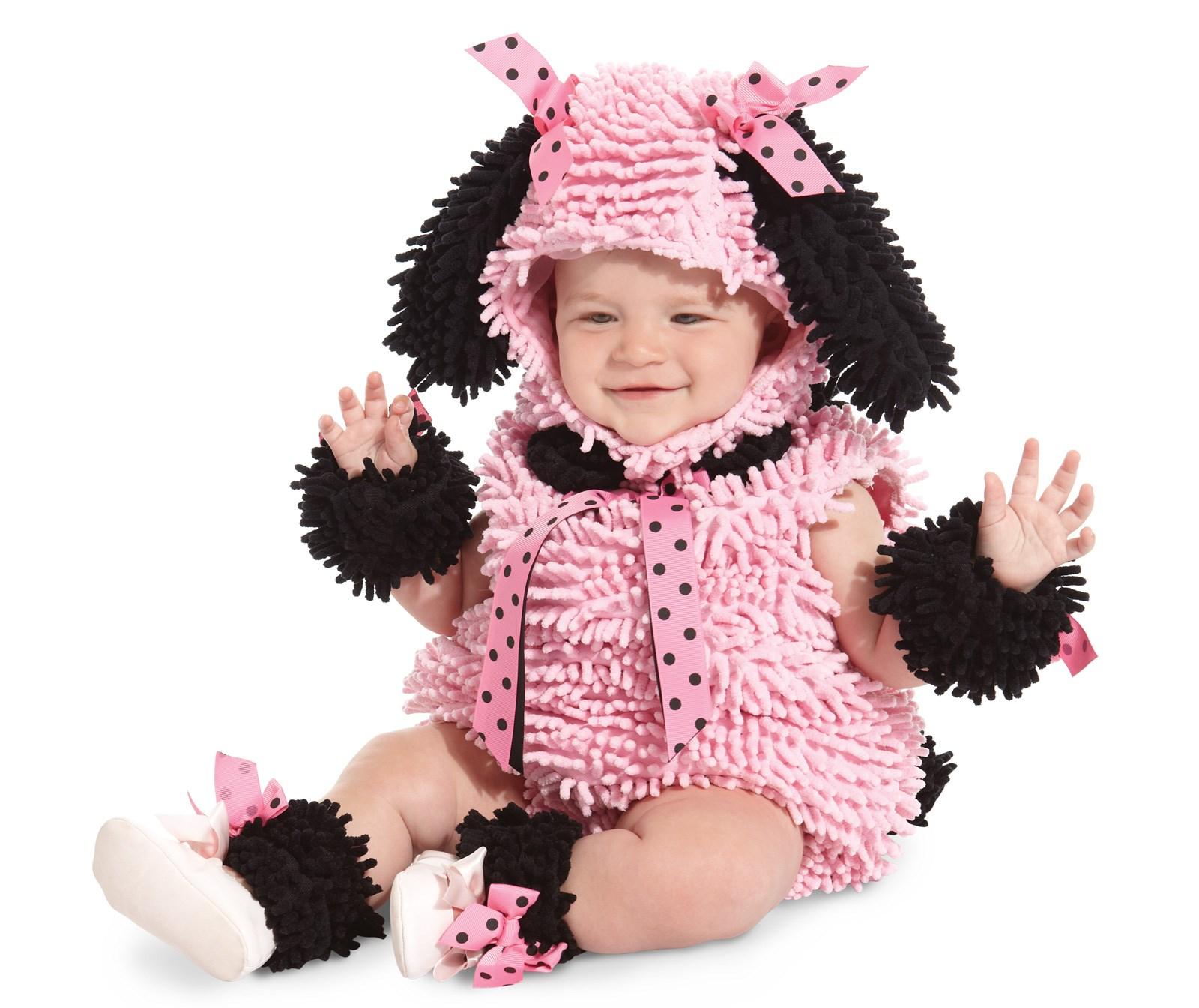 Pink Poodle Infant Toddler Costume