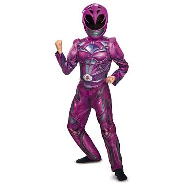 Pink Ranger Movie 2017 Deluxe Child Costume