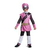 Pink Ranger Ninja Steel Deluxe Toddler Costume