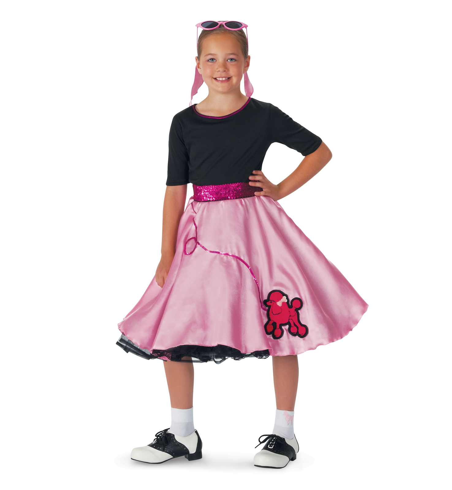 pink sock hop child costume buycostumescom - Halloween Express Mcdonough Ga