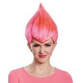Pink Troll Adult Wig