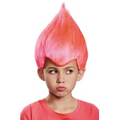 Pink Troll Child Wig