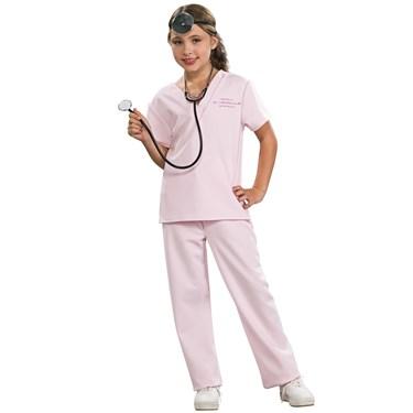 Pink Vet Child Costume
