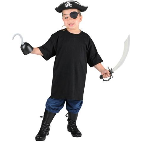 Pirate Child Costume Kit