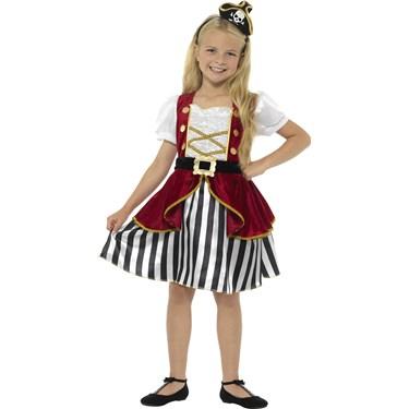 Pirate Girl Deluxe Costume