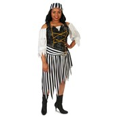 Pirate Princess Adult Plus Costume