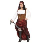 Pirate Queen Women's Plus Costume
