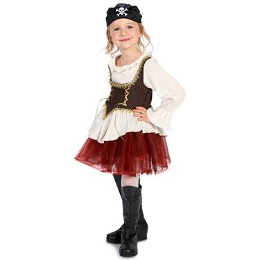 Pirate Tutu Girl Child Costume