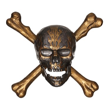 Pirates of the Caribbean - 3D Skull and Crossbones Wall Decor