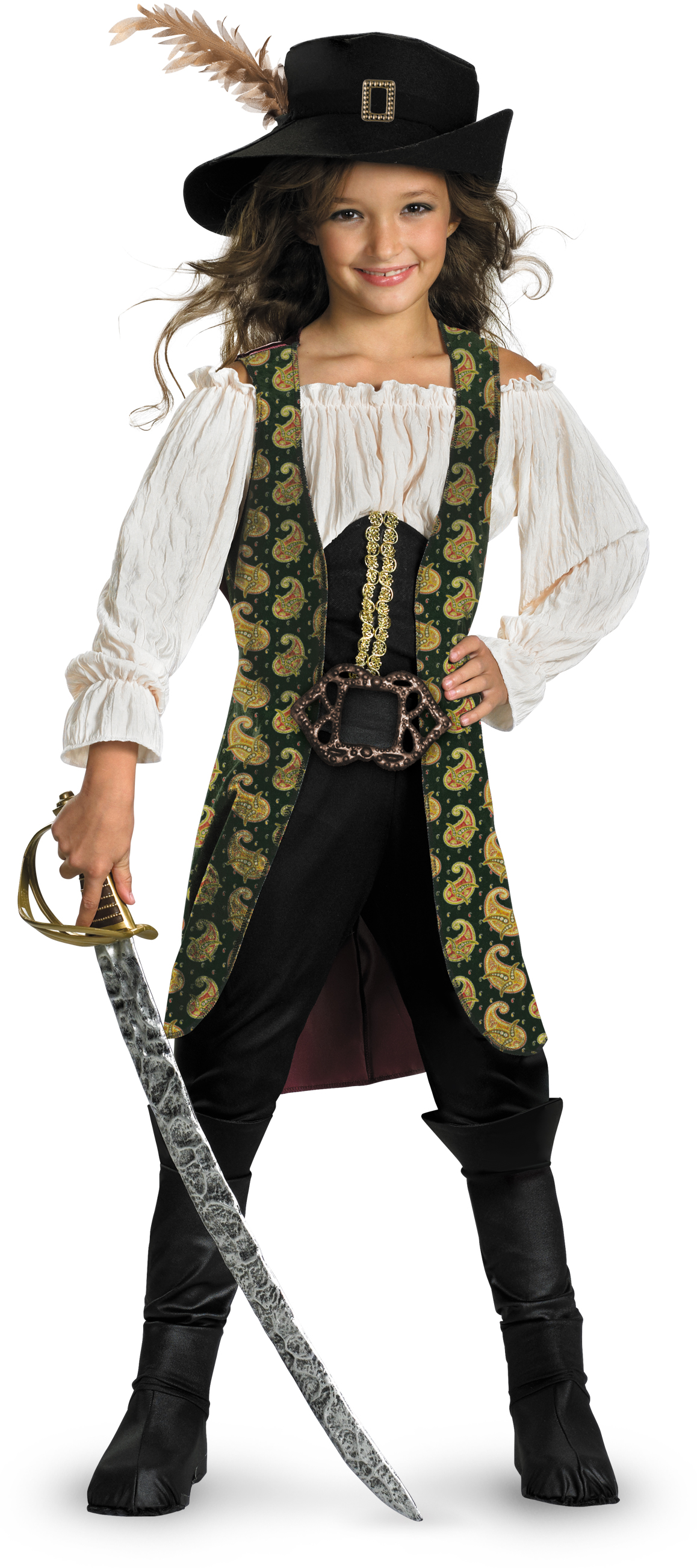 Pirates of the Caribbean 4 On Stranger Tides - Angelica Deluxe ...