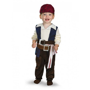 Pirates of the Caribbean 4 On Stranger Tides - Jack Sparrow Infant / Toddler Costume