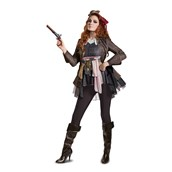 Pirates of the Caribbean 5: Captain Jack Female Deluxe Adult Costume