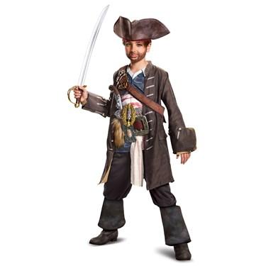Pirates of the Caribbean 5: Captain Jack Prestige Child Costume
