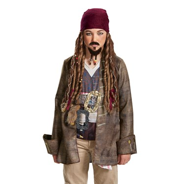 Pirates of the Caribbean 5: Goatee & Mustache Adult