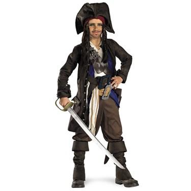 Pirates of the Caribbean - Captain Jack Sparrow Prestige Pre-Teen Costume