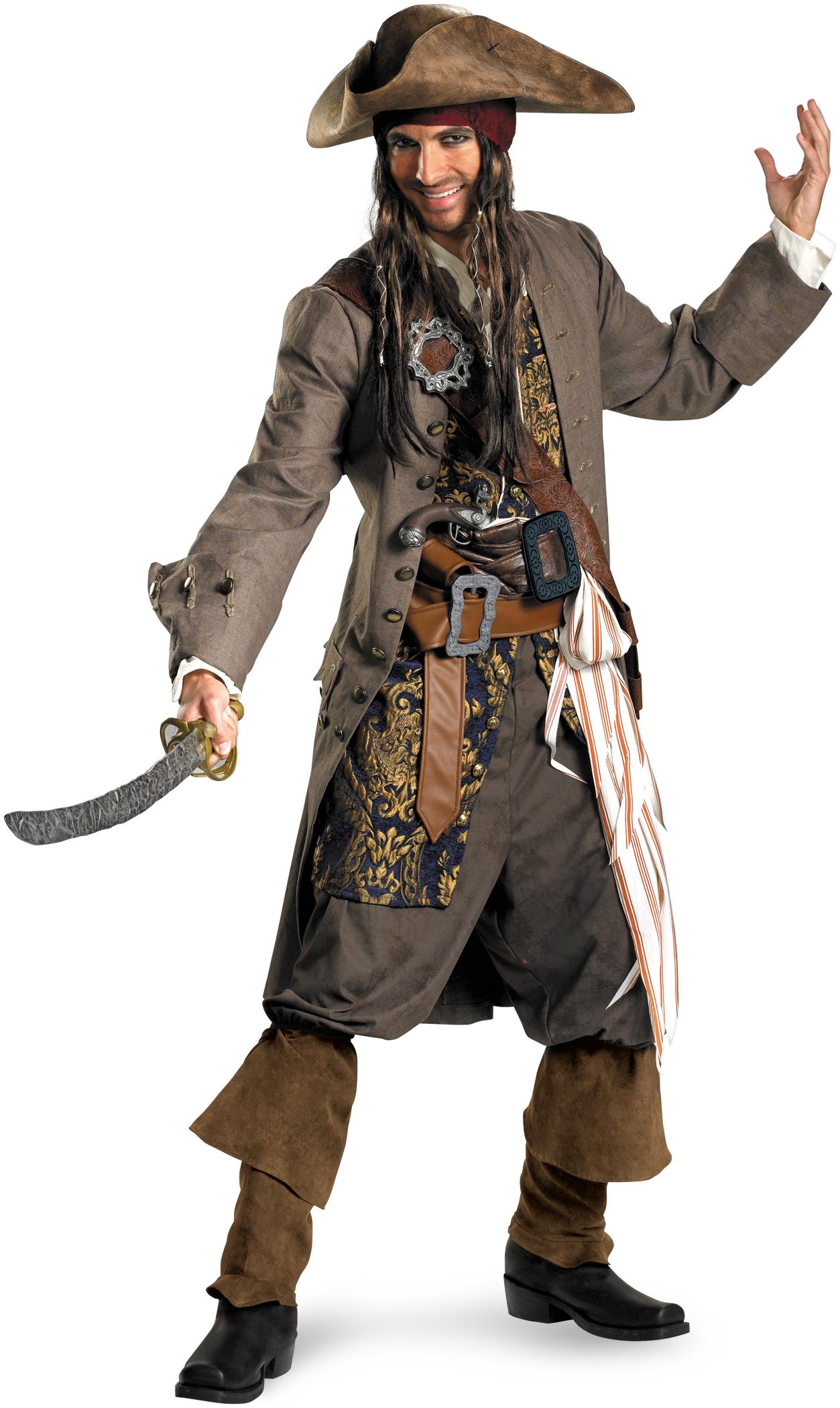 Adult captain costume jack sparrow