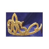 Plastic Tiara- Gold