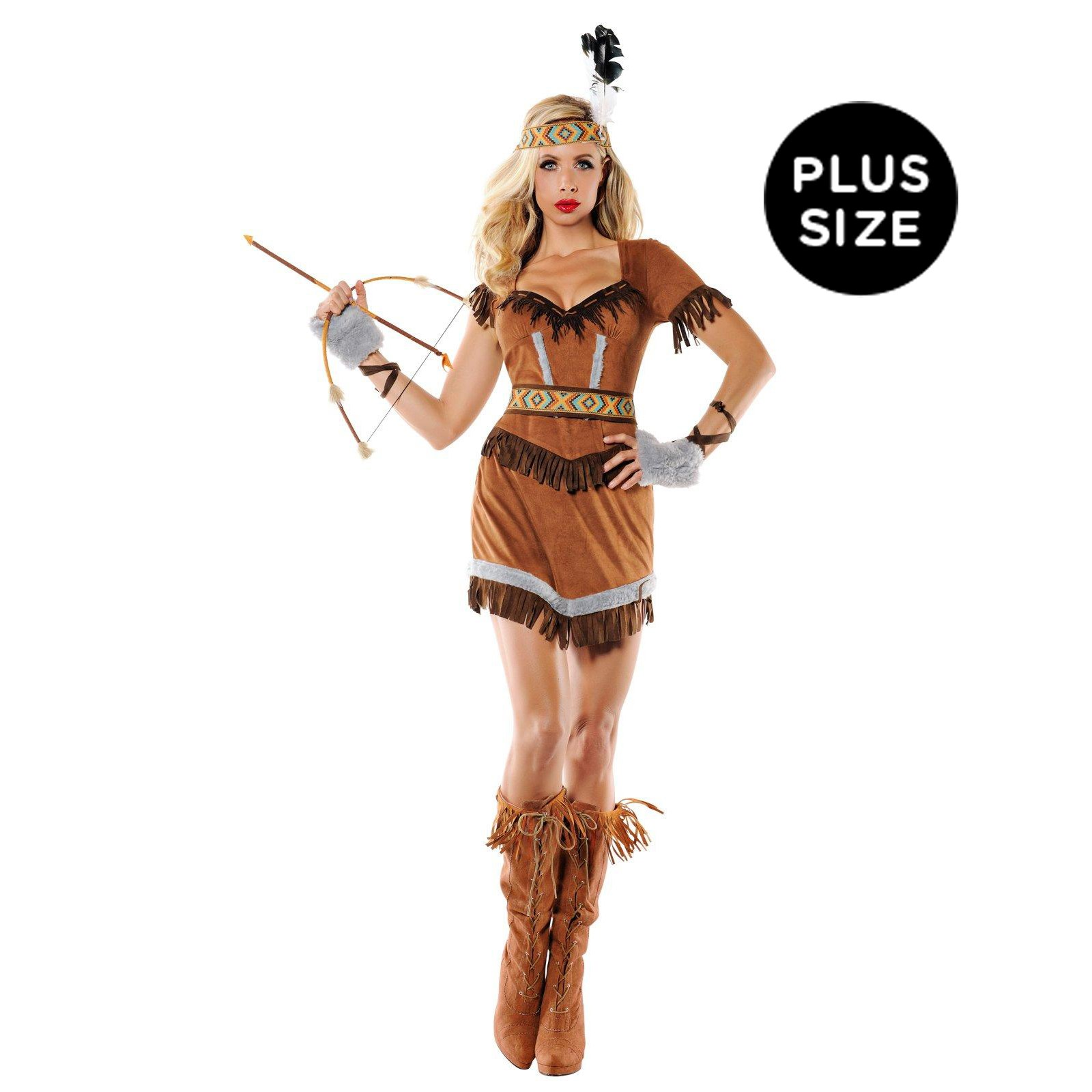 Plus Size Cherokee Costume for Women