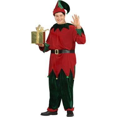Plus Size Deluxe Santas Helper Costume