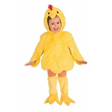 Plush Chicken Child Costume