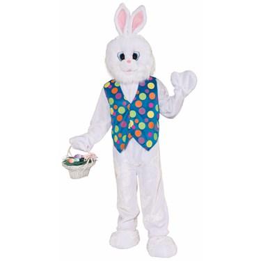 Plush Funny Bunny Adult Costume