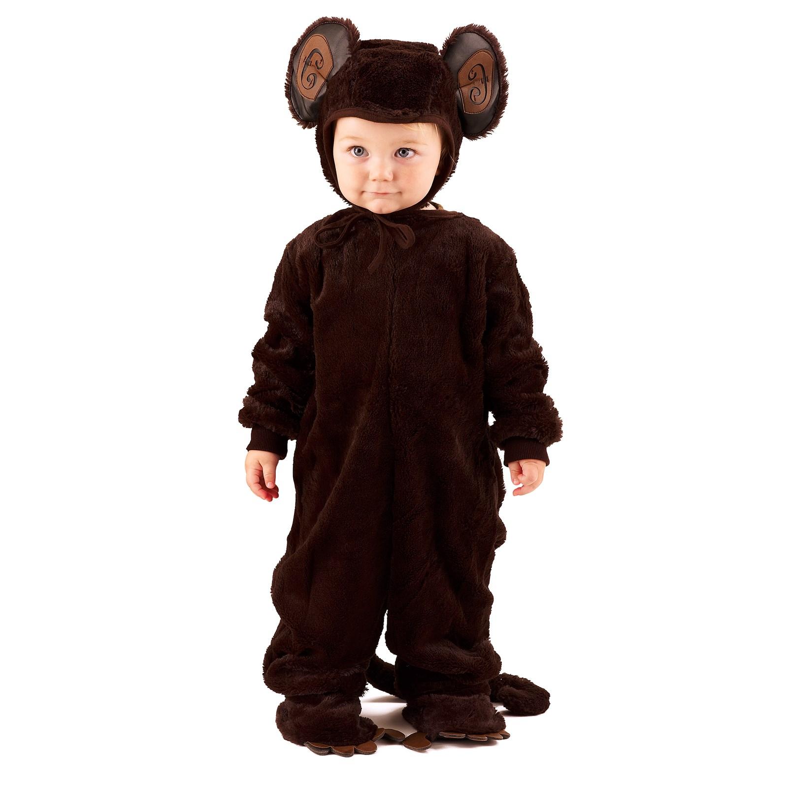 Italian Boy Name: Plush Monkey Newborn / Infant Costume