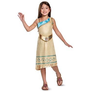 Pocahontas Deluxe Child Costume