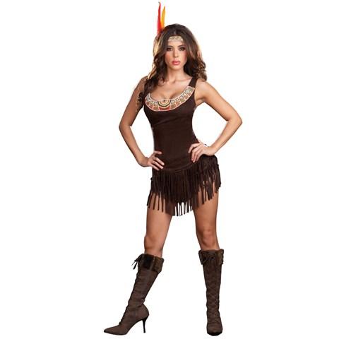Pocahottie Adult Costume