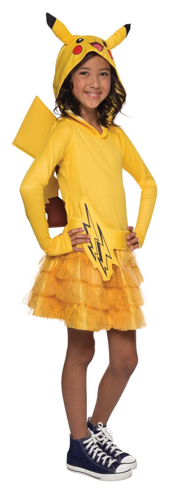 Pokemon pikachu girls costume