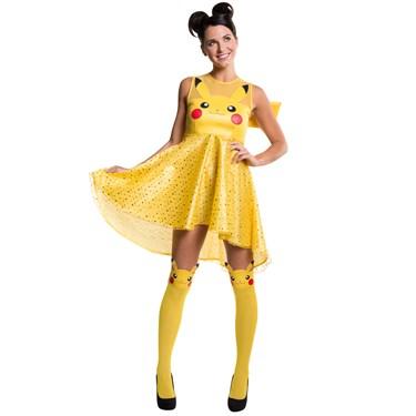 Pokemon Pikachu Adult Costume Dress