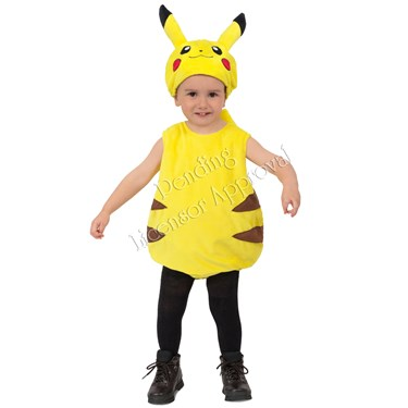 Pokemon Pikachu Bubble Child Costume