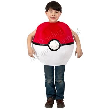 Pokemon Pokeball Child Costume