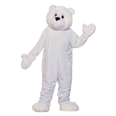 Polar Bear Mascot Adult Costume