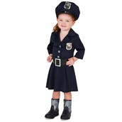 Police Girl Toddler Costume