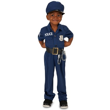 Police Officer Toddler Costume