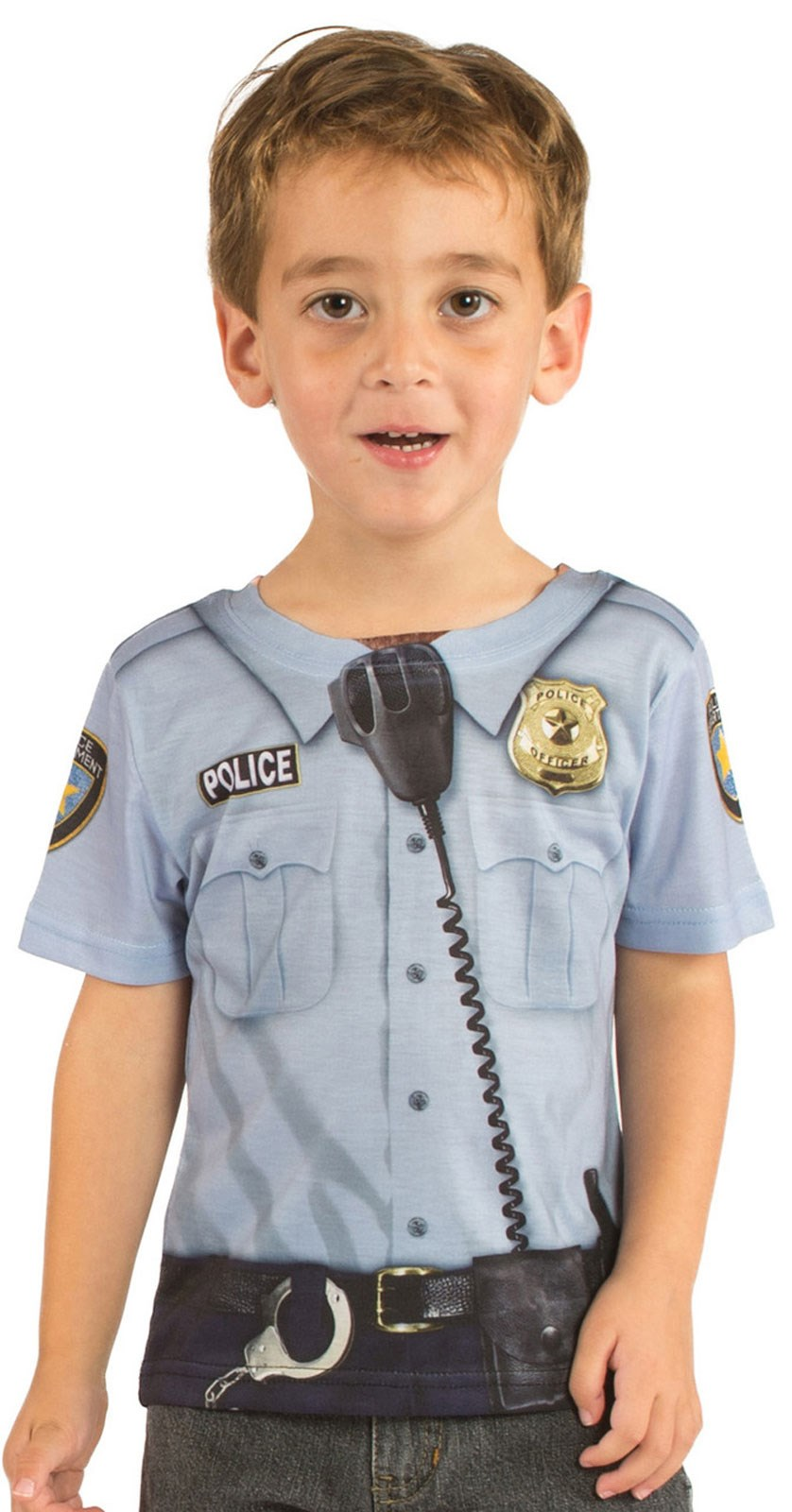 Policeman T-Shirt For Toddlers