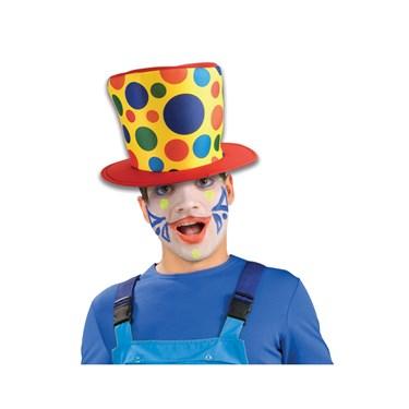 Polka Dot Clown Hat