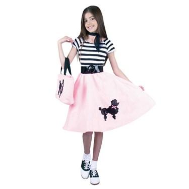 Poodle Skirt Child Costume