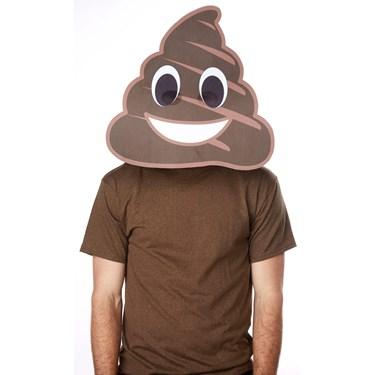 Poop Big Head Adult Mask