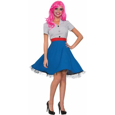 Pop Art Ms Dottie Costume - Adult Standard