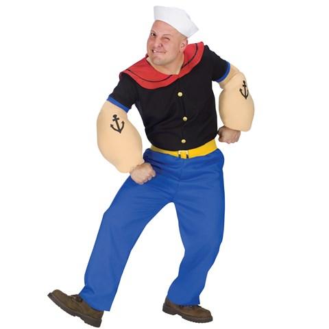 Popeye Adult Costume