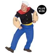 Popeye Adult Plus Costume