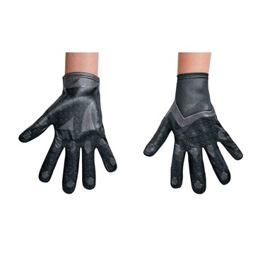 Power Rangers:  Black Ranger Child Gloves