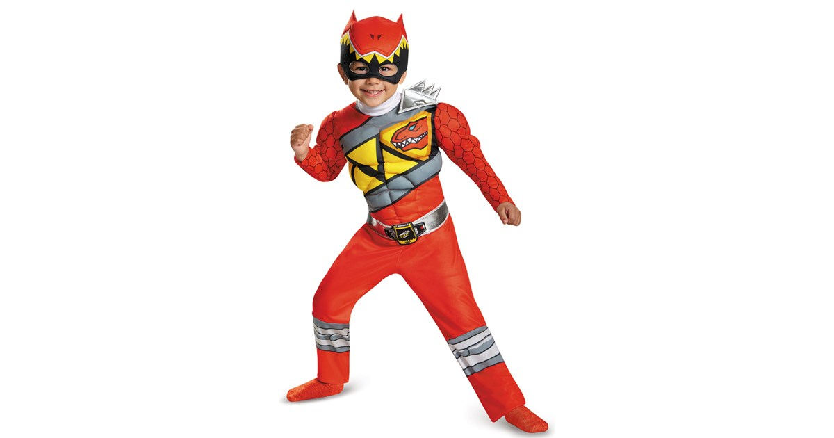 power rangers dino charge kids red ranger muscle costume. Black Bedroom Furniture Sets. Home Design Ideas